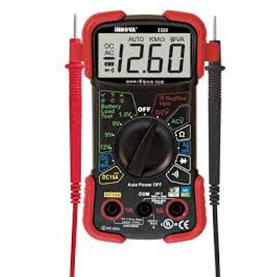 Voltage Meter & Accessories